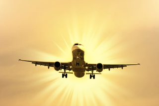 Airplane Takeoff Picture for Android, iPhone and iPad