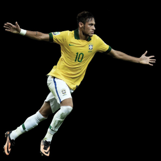 Neymar Brazil Football Player sfondi gratuiti per iPad mini