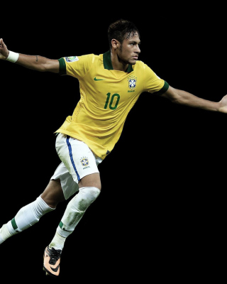 Neymar Brazil Football Player Picture for iPhone 6 Plus