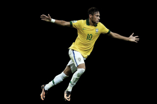Neymar Brazil Football Player Picture for Widescreen Desktop PC 1600x900
