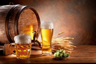 Beer and Hop Wallpaper for Android, iPhone and iPad