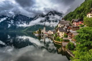 Hallstatt, Salzkammergut Wallpaper for Sony Xperia Z2 Tablet