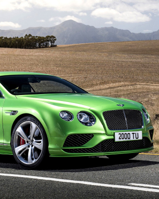 Bentley Continental GT 4 Wallpaper for iPhone 6 Plus