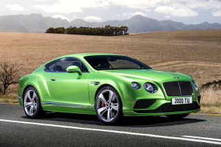 Bentley Continental GT 4 Background for Android, iPhone and iPad