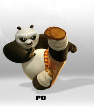 Kung Fu Panda Background for iPhone 5