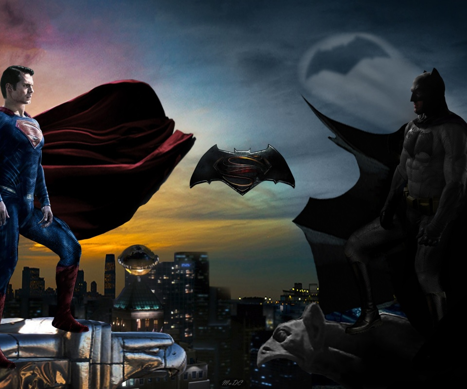 Fondo de pantalla Batman VS Superman 960x800