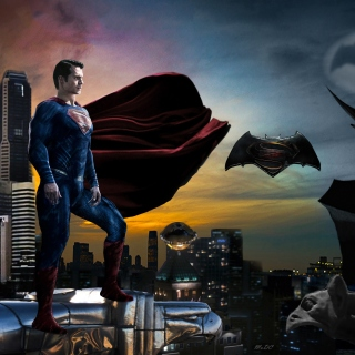Batman VS Superman sfondi gratuiti per 1024x1024