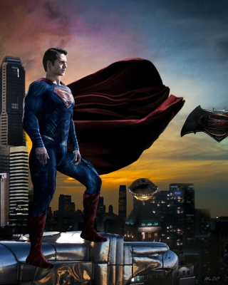 Free Batman VS Superman Picture for HTC Titan