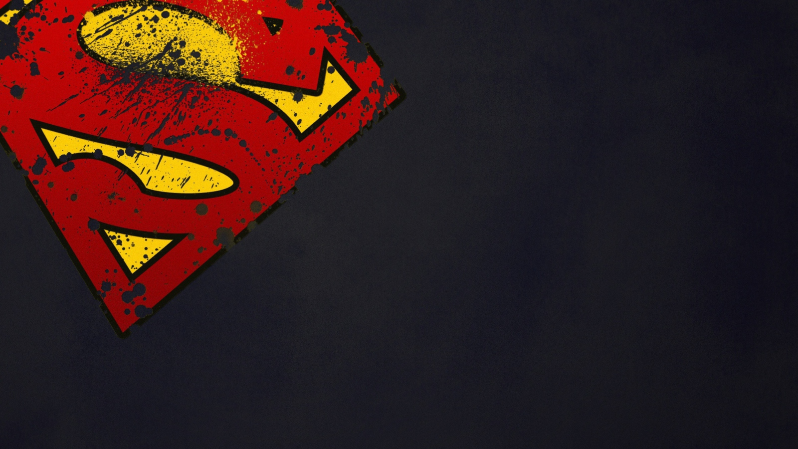 Screenshot №1 pro téma Superman Sign 1600x900
