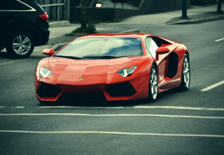 Lamborghini Aventador Wallpaper for Fullscreen Desktop 1024x768