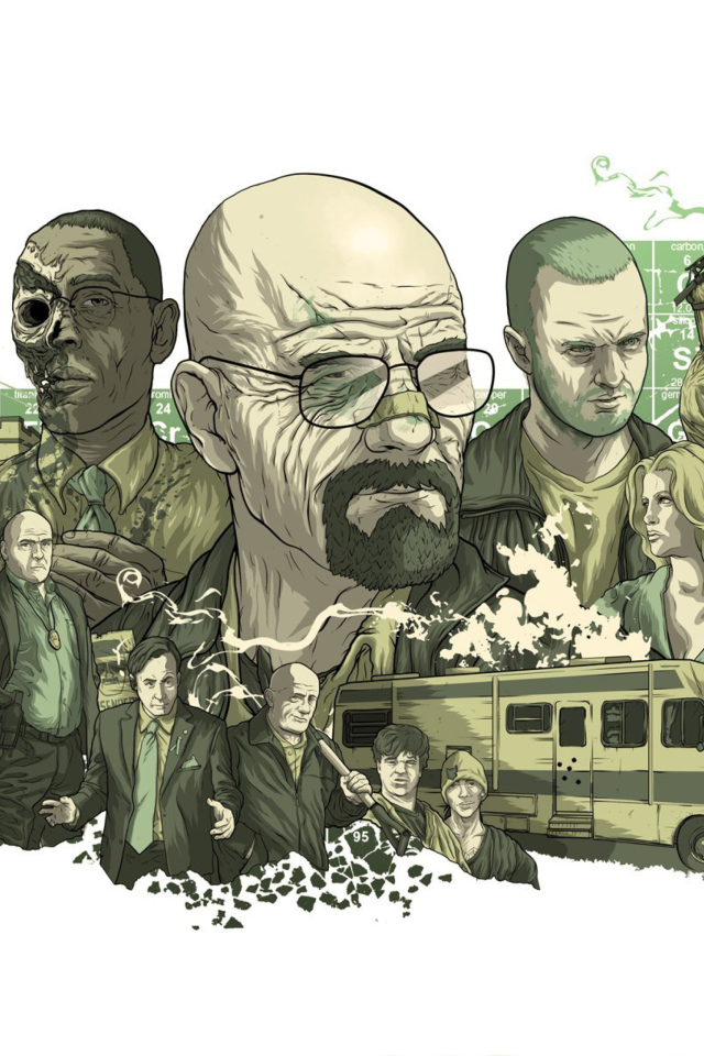 Screenshot №1 pro téma Breaking Bad Illustration 640x960