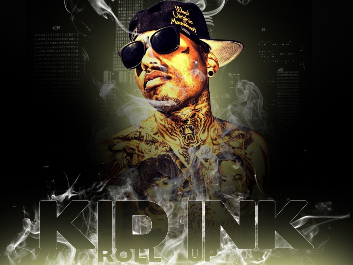 Das Kid Ink Hip Hop Star Wallpaper 1152x864