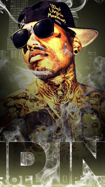 Screenshot №1 pro téma Kid Ink Hip Hop Star 360x640