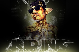 Kid Ink Hip Hop Star Background for 480x400