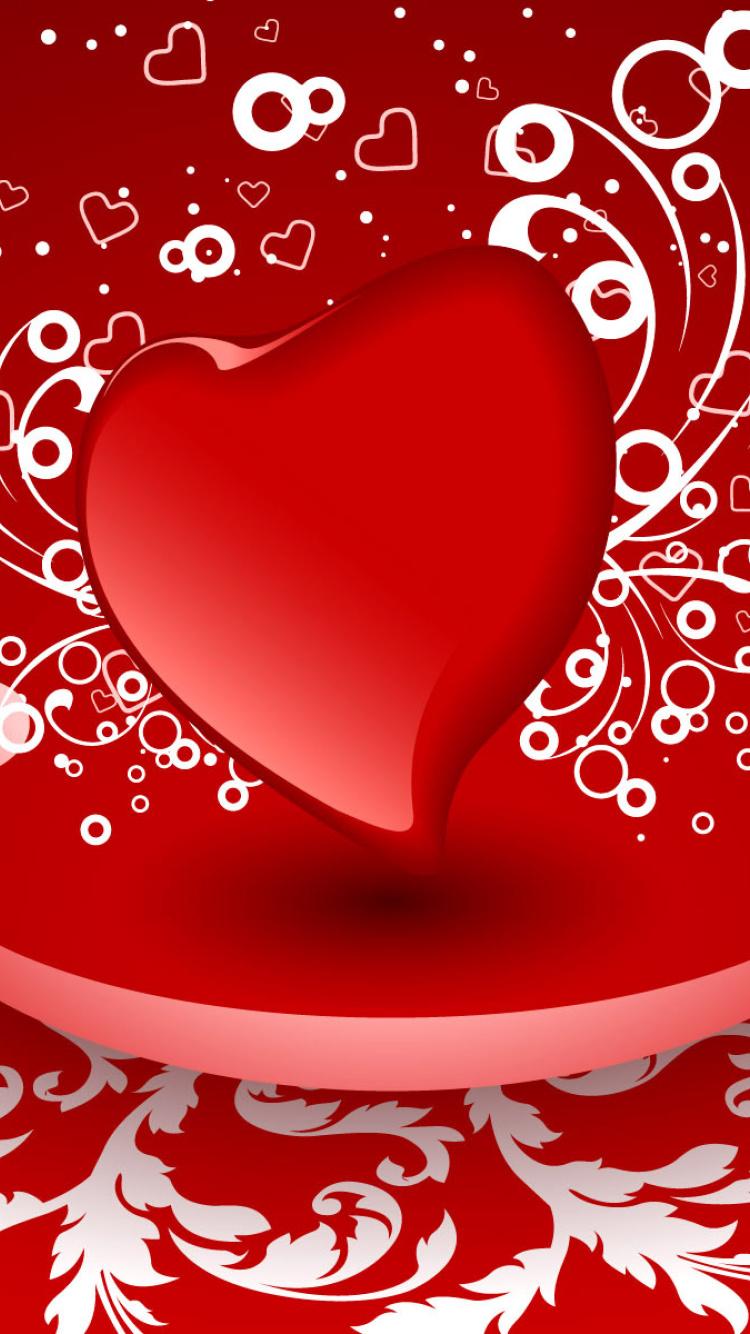 Картинки сердечки на телефон, днем летия