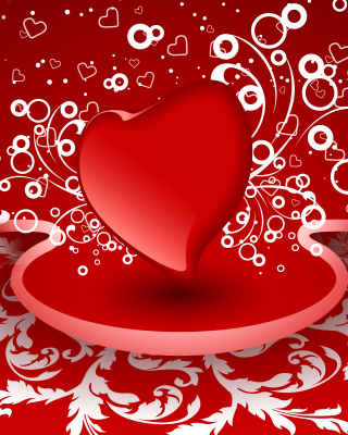 Heart Decor Background for Nokia Lumia 925