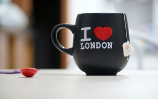 I Love London Mug - Obrázkek zdarma pro Widescreen Desktop PC 1920x1080 Full HD