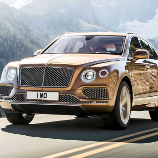 Обои Bentley Bentayga SUV для телефона и на рабочий стол iPad mini 2