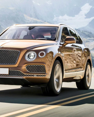 Bentley Bentayga SUV Picture for iPhone 6 Plus