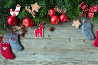 Happy Christmas Background for Android, iPhone and iPad