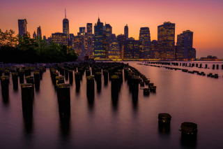 Kostenloses New York City Downtown Wallpaper für Android, iPhone und iPad