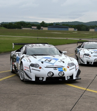 Free Lexus RC F GT3 Race Car Picture for Nokia X6
