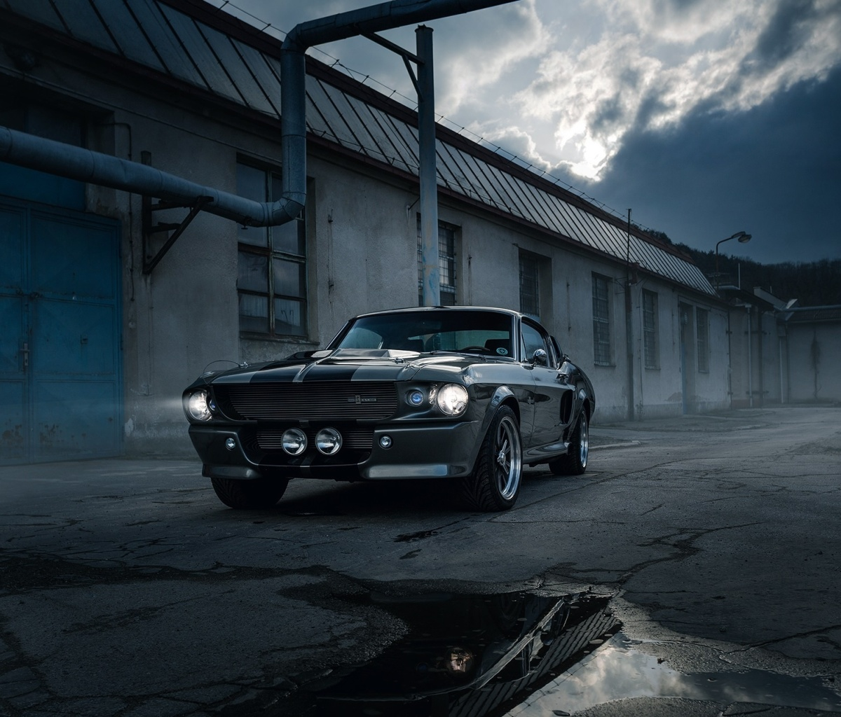 Screenshot №1 pro téma Ford Mustang GT500 Eleanor 1967 1200x1024