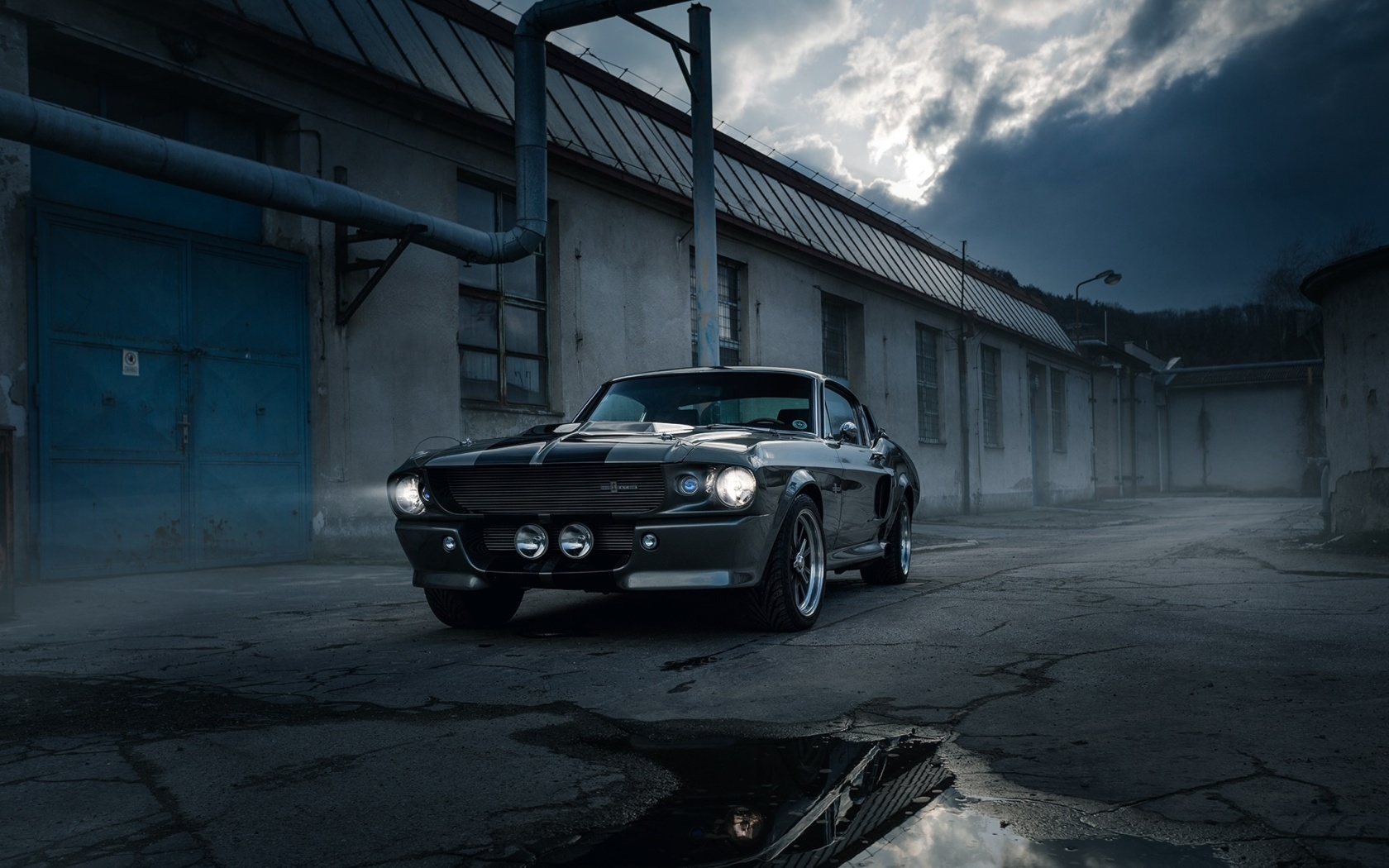 Screenshot №1 pro téma Ford Mustang GT500 Eleanor 1967 1680x1050