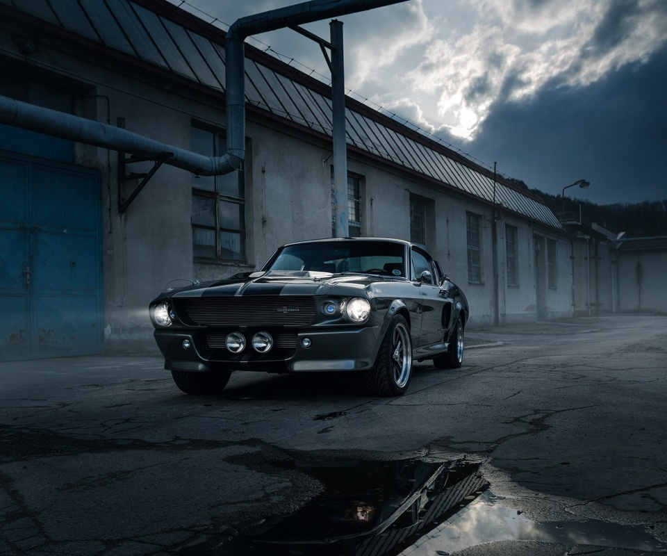 Screenshot №1 pro téma Ford Mustang GT500 Eleanor 1967 960x800