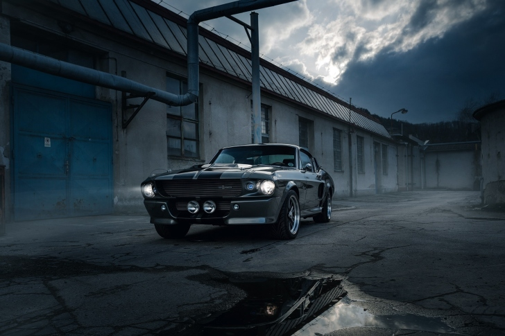 Sfondi Ford Mustang GT500 Eleanor 1967