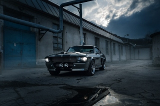 Ford Mustang GT500 Eleanor 1967 Background for Android, iPhone and iPad
