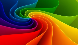 Swirling Rainbow Background for Google Nexus 5
