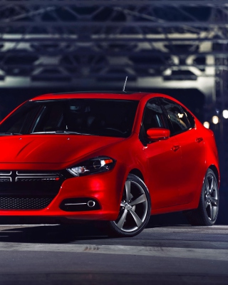 2016 Dodge Dart GT papel de parede para celular para iPhone 6 Plus