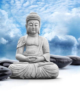 Buddha Statue Wallpaper for HTC Titan