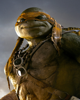 Tmnt 2014 Michelangelo sfondi gratuiti per iPhone 6 Plus