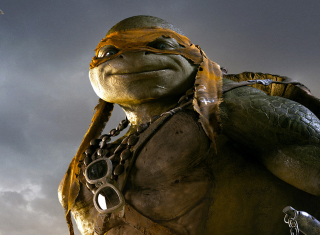 Tmnt 2014 Michelangelo Background for Android, iPhone and iPad