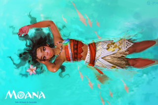 Moana Movie Wallpaper for Samsung Galaxy Note 2 N7100