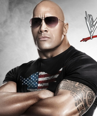 Dwayne Johnson - The Rock Wwe - Obrázkek zdarma pro iPhone 6 Plus