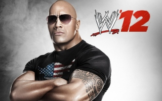 Kostenloses Dwayne Johnson - The Rock Wwe Wallpaper für 480x400