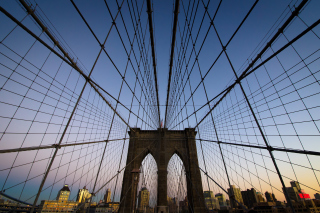 New York, Brooklyn Bridge - Obrázkek zdarma