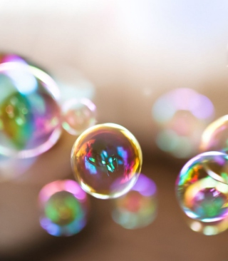 Colorful Bubbles Wallpaper for Nokia 5800 XpressMusic