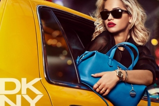 DKNY Advertising Background for Android, iPhone and iPad