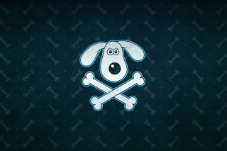 Funny Dog Sign Background for Android, iPhone and iPad