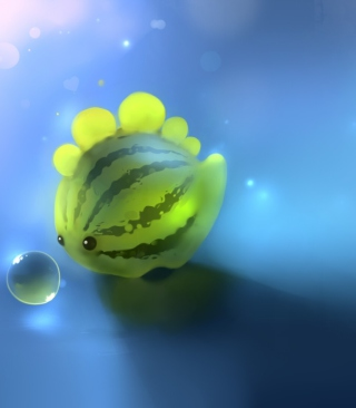 Watermelon Fish sfondi gratuiti per iPhone 4S