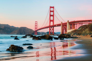Golden Gate Bridge In San Francisco Background for Android, iPhone and iPad