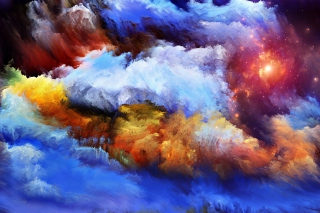 Smoke Paints Wallpaper for Android, iPhone and iPad