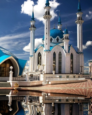 Kul Sharif Mosque in Kazan Picture for 240x320