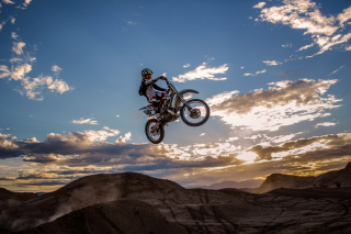 Motorcycle Jump Wallpaper for 1080x960