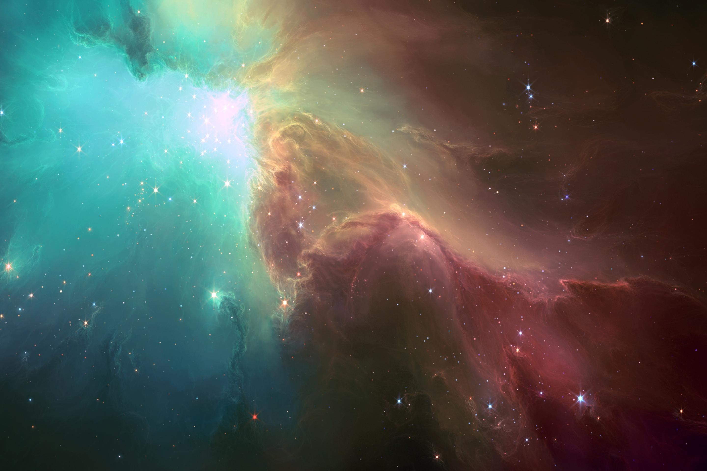 Обои Туманность со звездами картинки на рабочий стол на тему Космос - скачать бесплатно