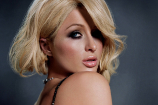 Paris Hilton Background for Android 320x480